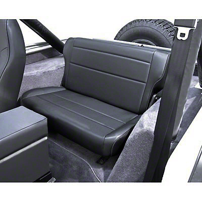 Rugged Ridge Fold & Tumble Rear Seat, Spice (87-95 Wrangler YJ)