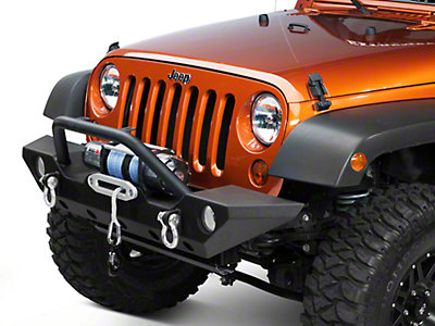 Barricade Trail Force HD Front Bumper (07-15 Wrangler JK)