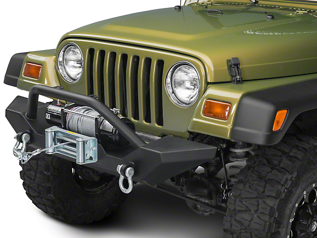 Jeep Tj Front Bumper : Barricade trail force hd wrangler front bumper j