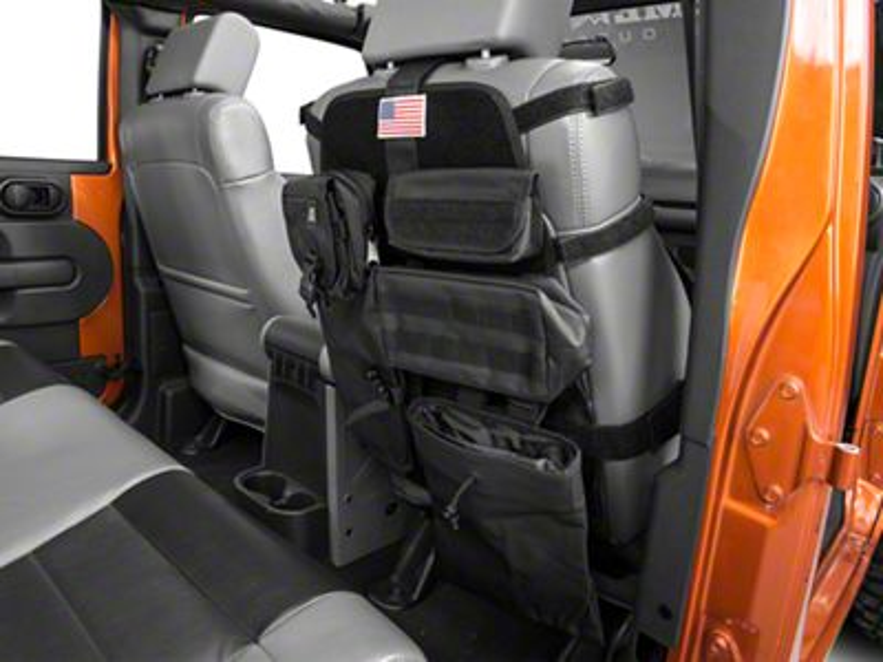 Rugged Ridge Wrangler Front Cargo Seat Cover Black 13236