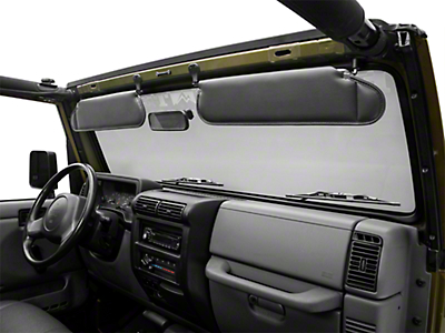 Rugged Ridge Sunvisor Set, Agate (97-02 Wrangler TJ)