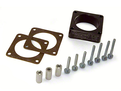 Rugged Ridge Throttle Body Spacer (91-06 Wrangler YJ & TJ w/ 2.5L or 4.0L)