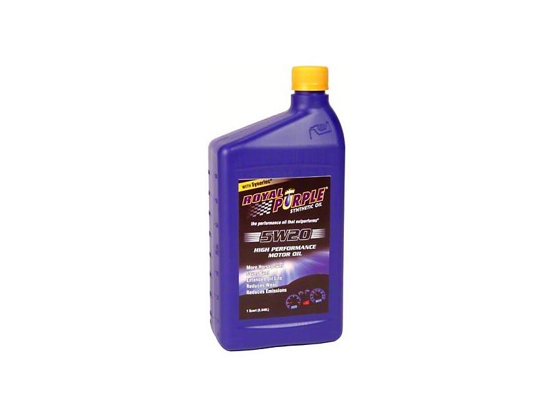 Royal Purple F 150 5w20 Motor Oil 1520 Free Shipping