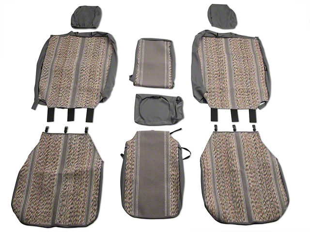 Fia Custom Fit Saddle Blanket Front 40 20 40 Seat Cover