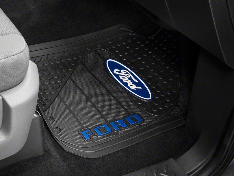 Trushield Ford Logo F 150 Factory Floor Mat T526386 09 15