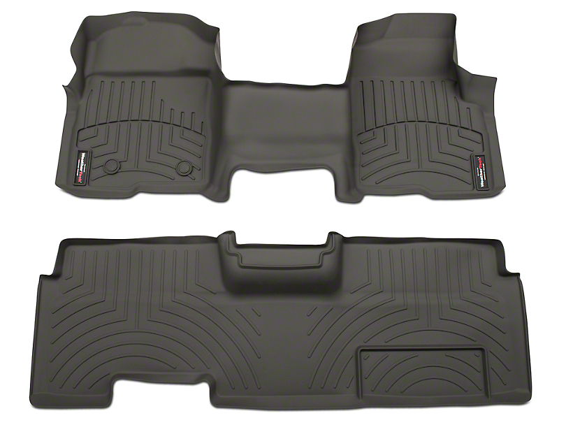Weathertech F 150 Digitalfit Front And Rear Floor Liners