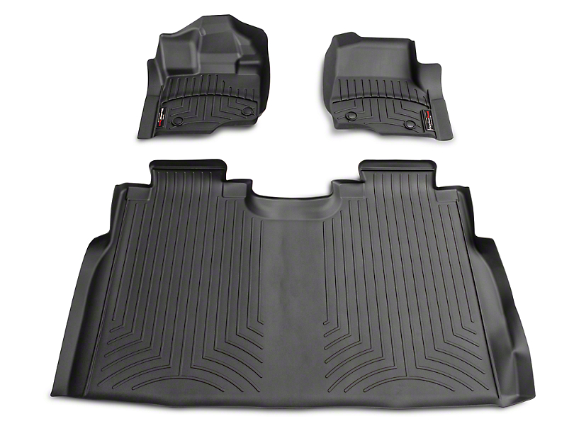 Weathertech F 150 Front And Rear Digitalfit Floor Liners