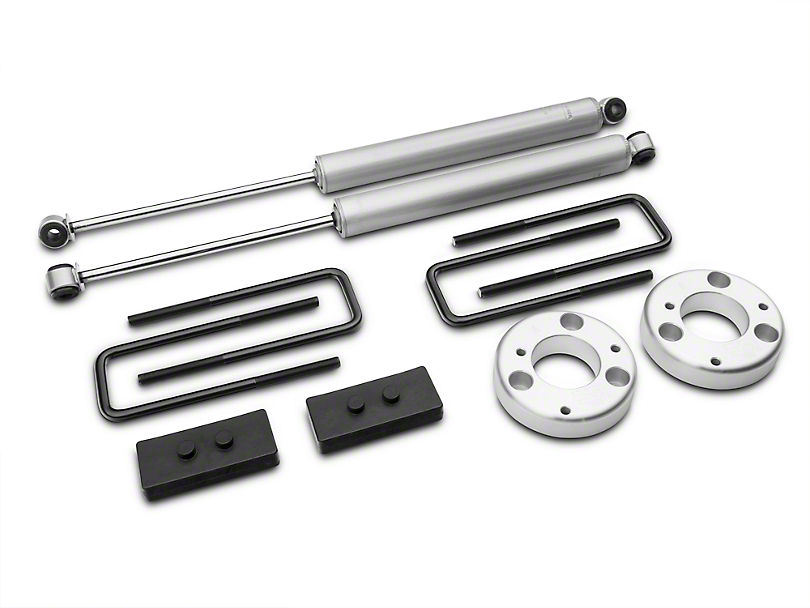 Rough Country 2 in. Leveling Lift Kit w/ Shocks (15-17 All, Excluding Raptor)