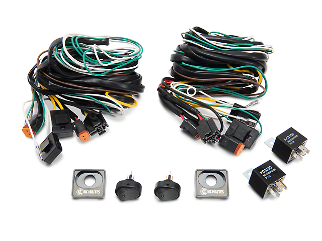 ford performance f 150 auxilary light wiring harness kit m 15525 ford performance auxilary light wiring harness kit 97 17 w o oem in dash aux switches
