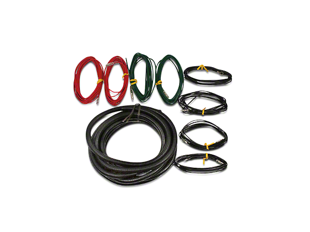 ford performance f 150 auxilary light wiring harness kit m 15525 ford performance auxilary light wiring harness kit 97 17 w oem in dash aux switches