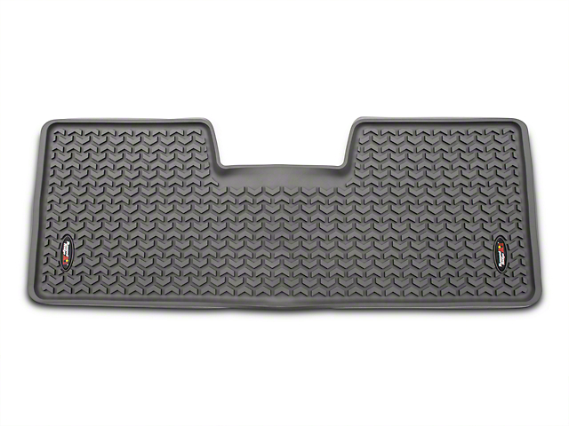 Rugged Ridge Floor Mats F150 Rugged Ridge F-150 Rear Floor Liner - Gray 84952.12 (09-14 ...