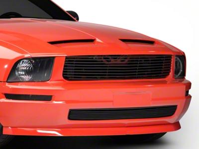 Modern Billet Black Retro Replacement Grille (05-09 V6)