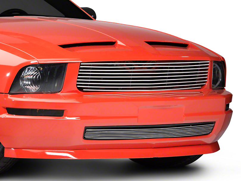 Modern Billet Polished Retro Replacement Grille (05-09 V6)