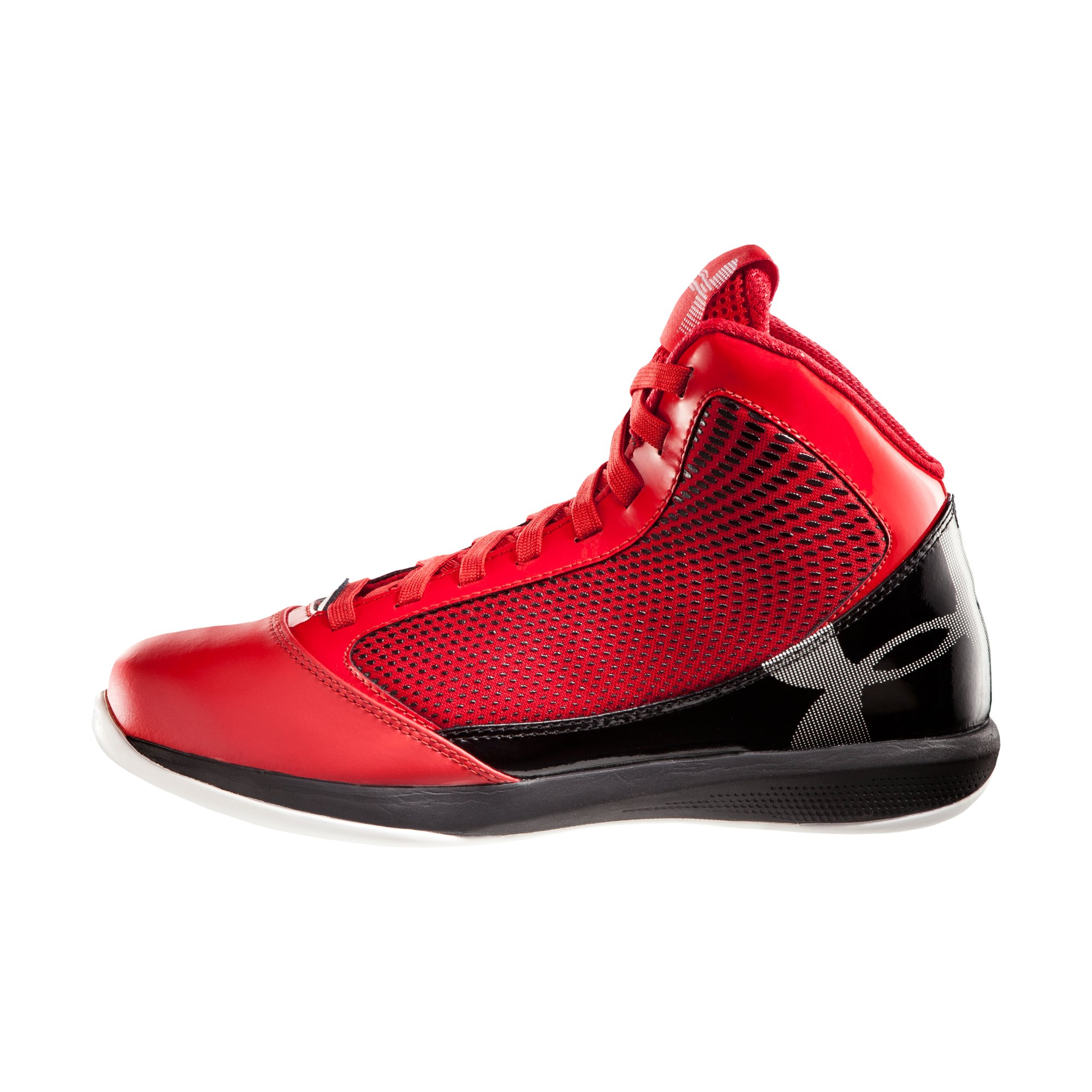 Under Armour Shoes White And Red