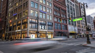 Under Armour storefront. Your local Sports Apparel, Shoes, & Accessories in Detroit, MI