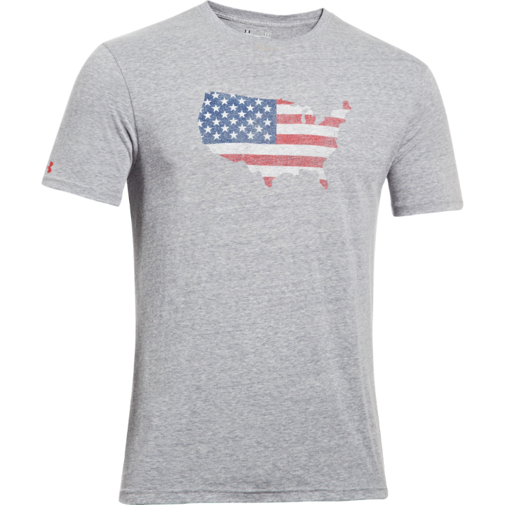 MEN'S UA TACTICAL AMERICA T-SHIRT