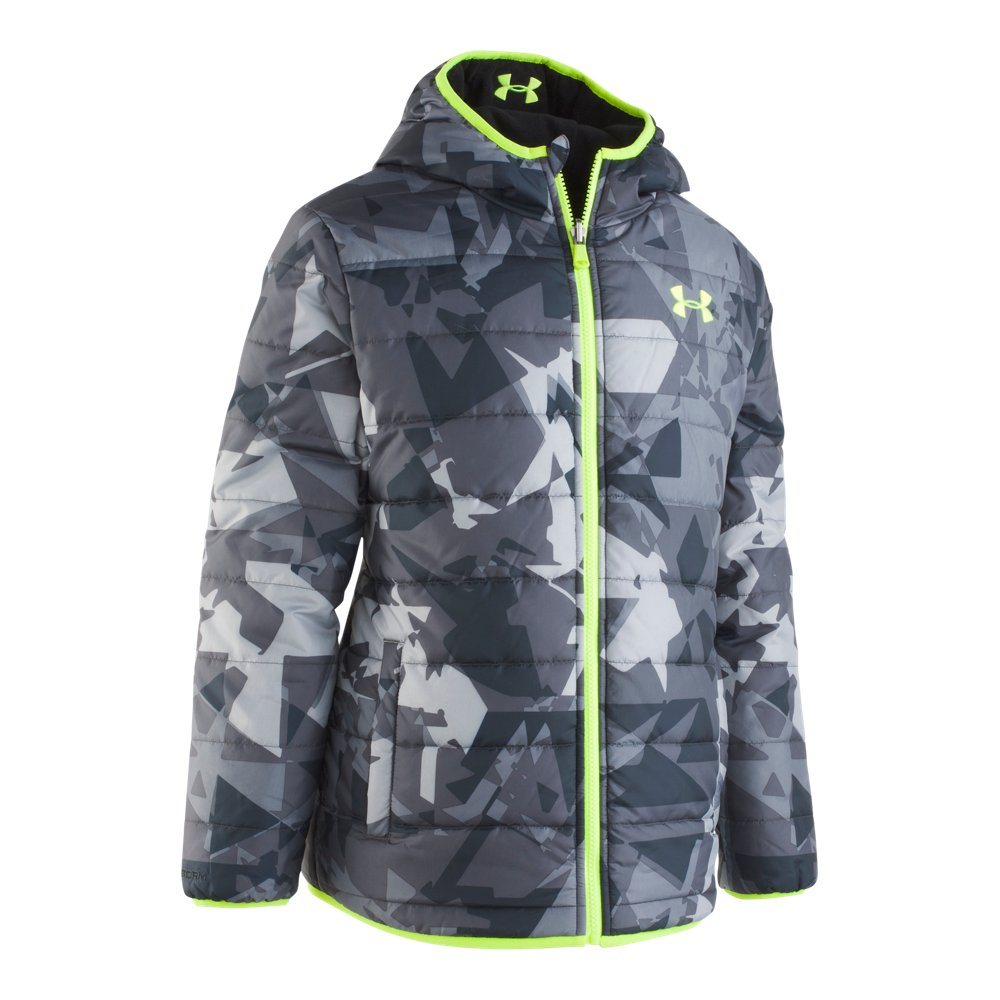 Boys' Toddler Under Armour Printed Reversible Pronto Puffer Jacket