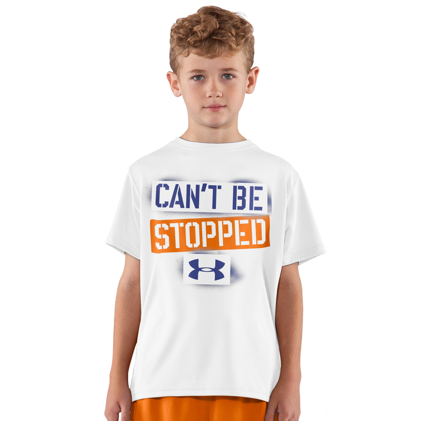 Under Armour Boys' UA Can't Be Stopped Graphic T-Shirt