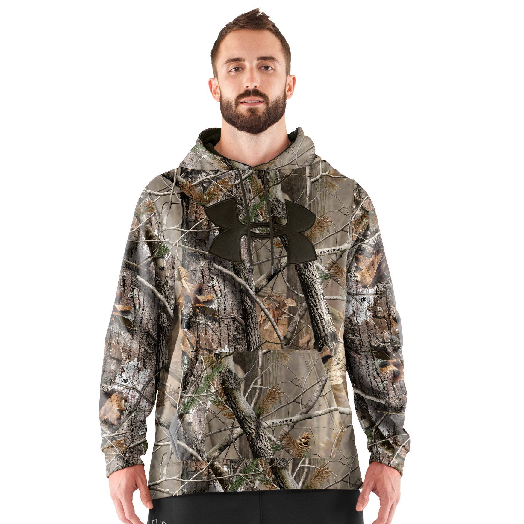 Under Armour Men's UA Big Logo Camo Hoodie