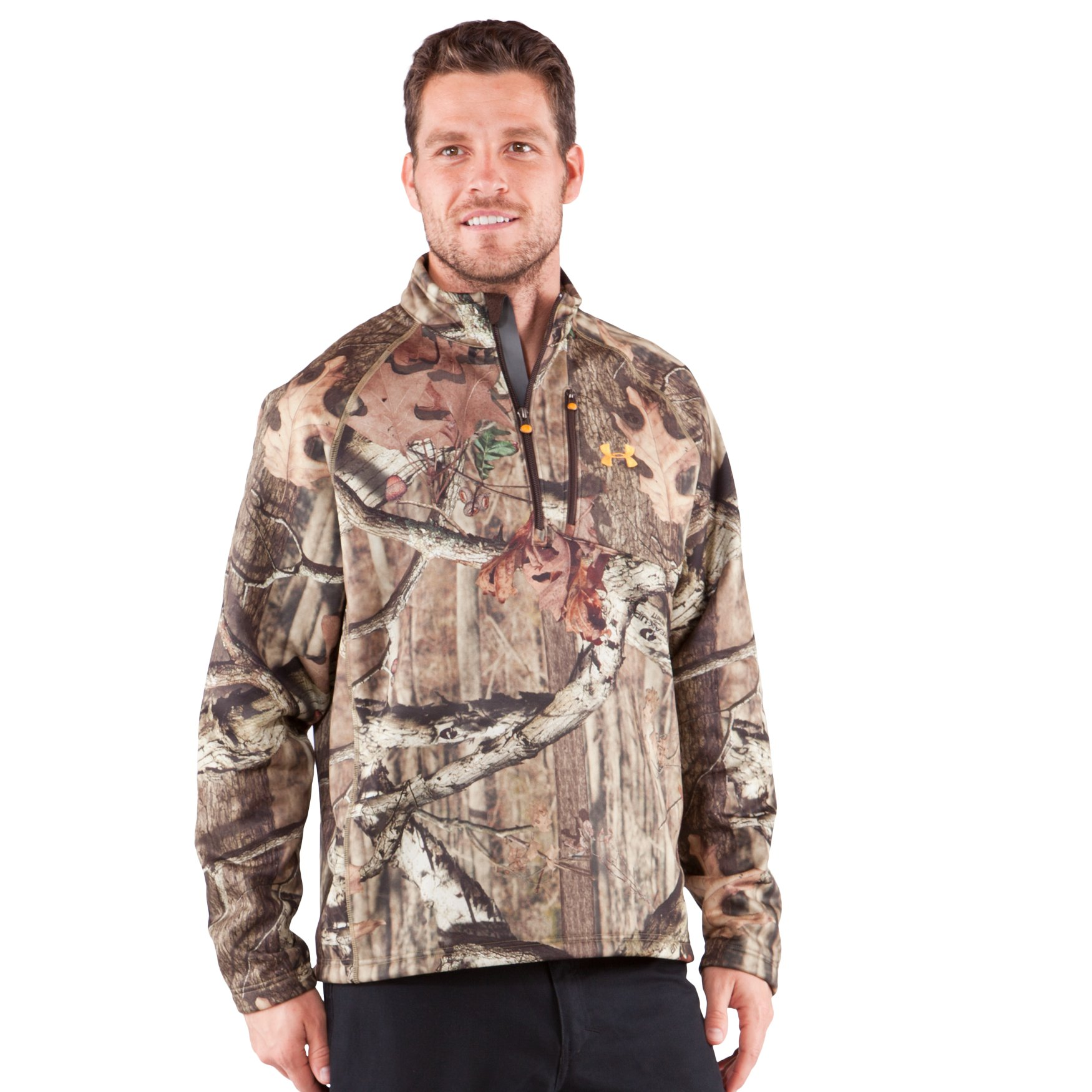 tommy Asks About Men's Camo Hurlock Fleece Pullover - Needle