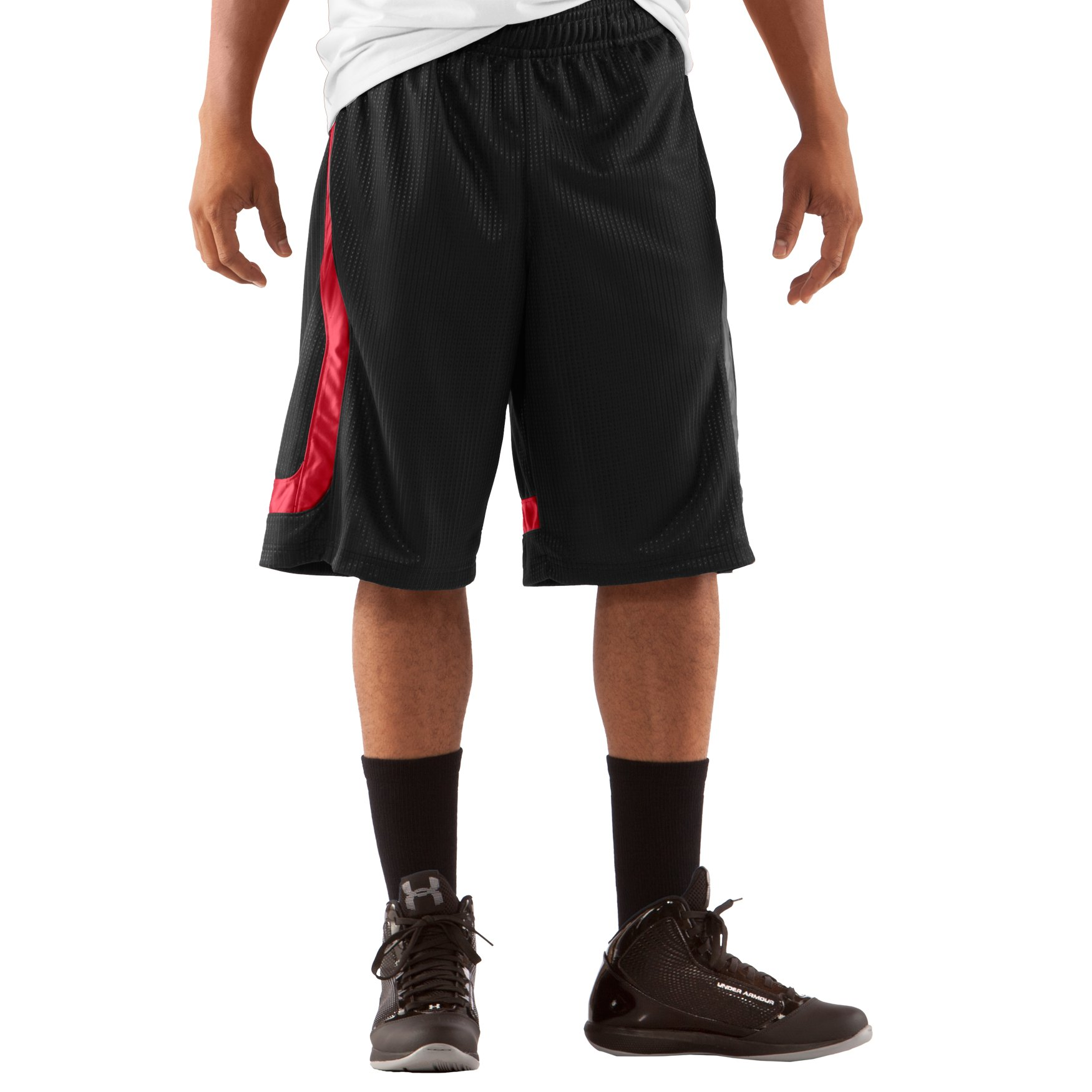 "brad Asks About Men's UA Regent 12"" Basketball Shorts - Needle"