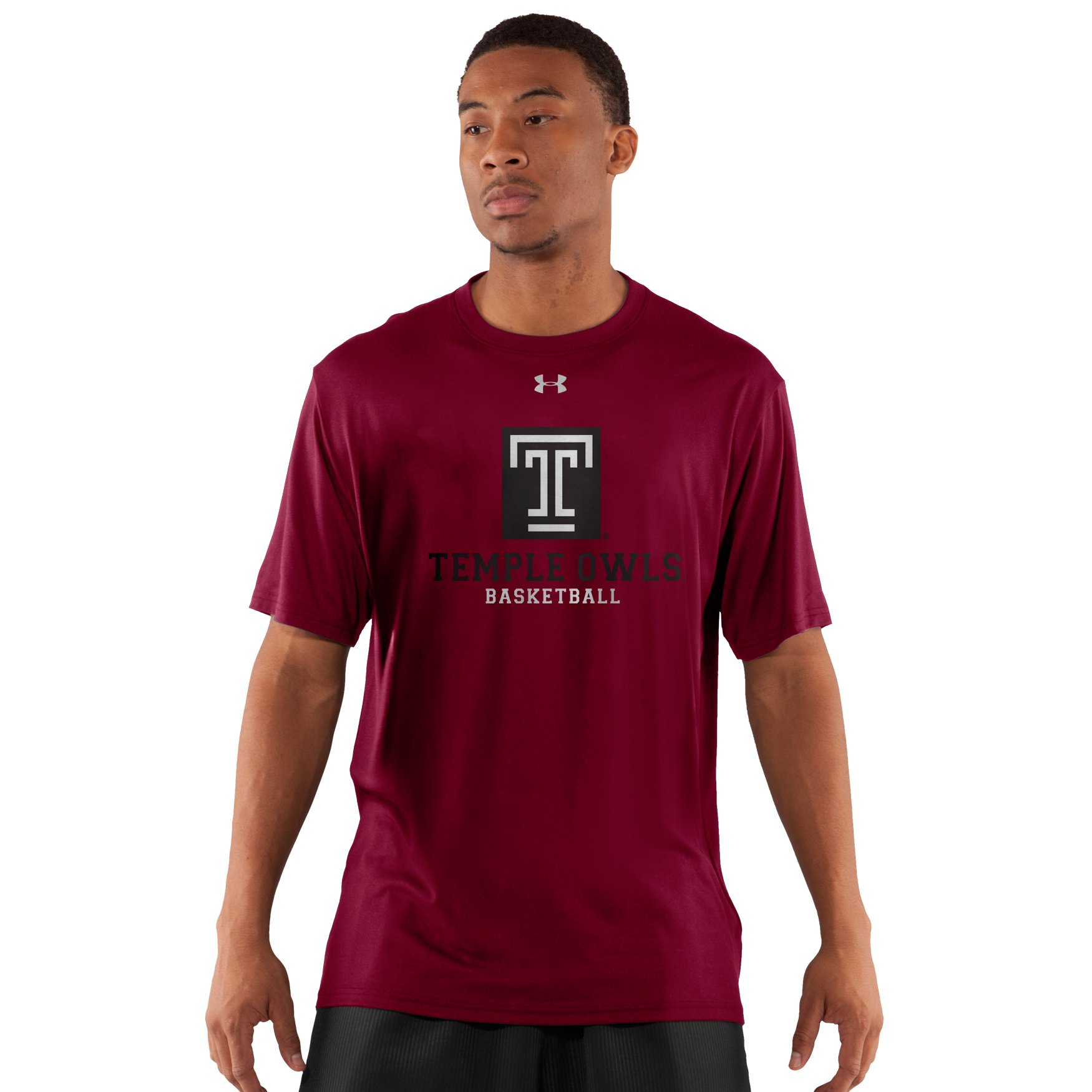 Under Armour Temple UA Tournament T Shirt