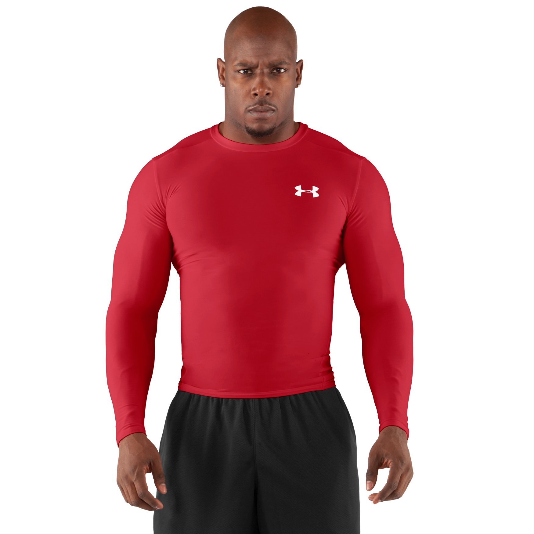 Charlotte asks about men 39 s heatgear compression for Under armour cold gear shirt mens