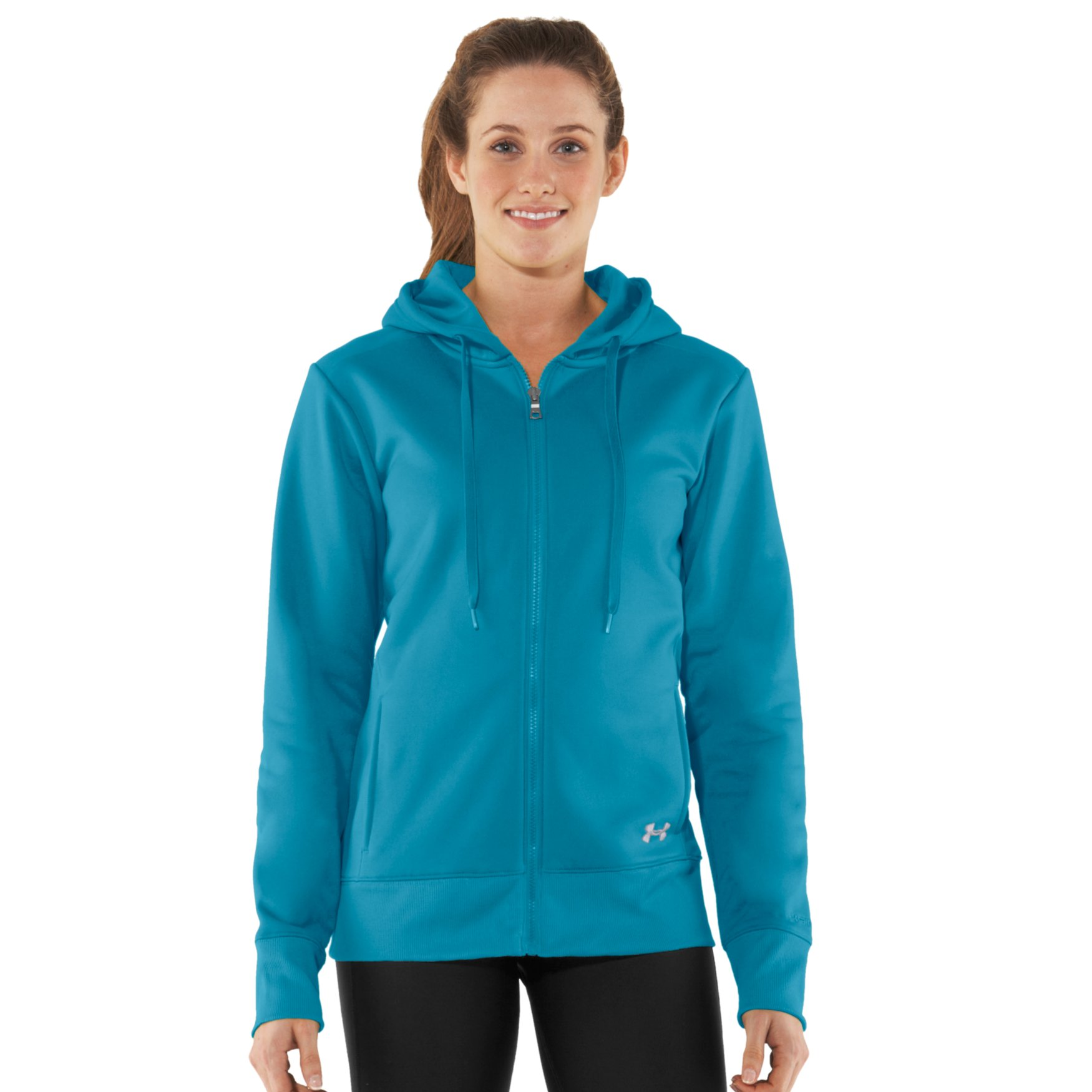 Teresa Asks About Women s Armour® Fleece Storm Full Zip Hoody - Needle 724a7d970b