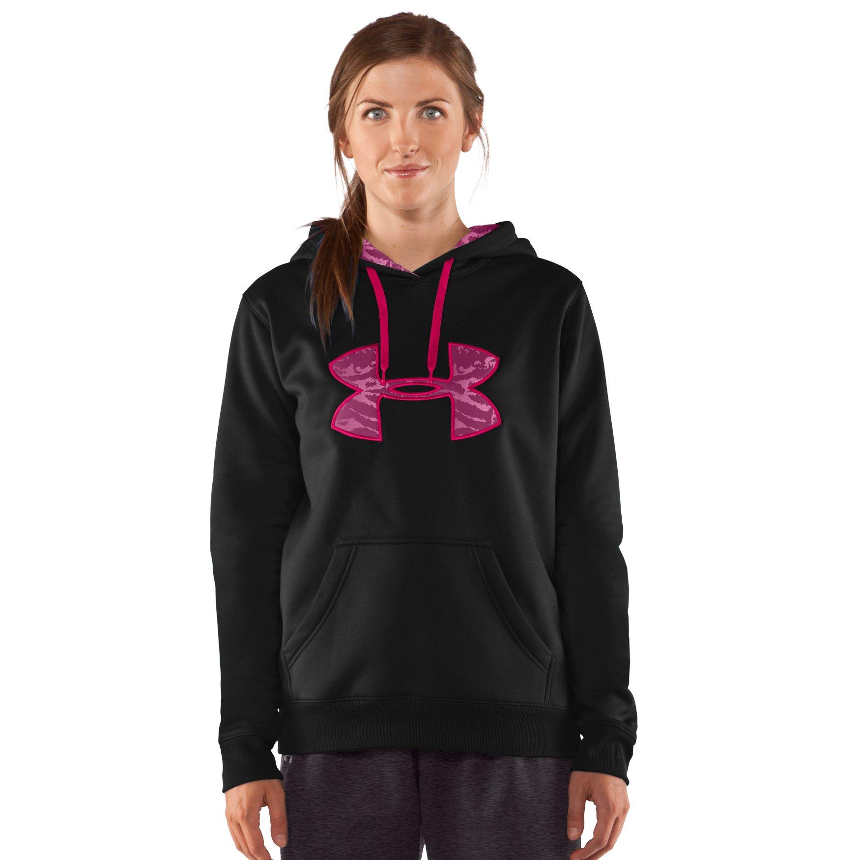 7a25d2d3652d7 Amber Asks About Women s Armour® Fleece Storm Printed Big Logo Hoody -  Needle