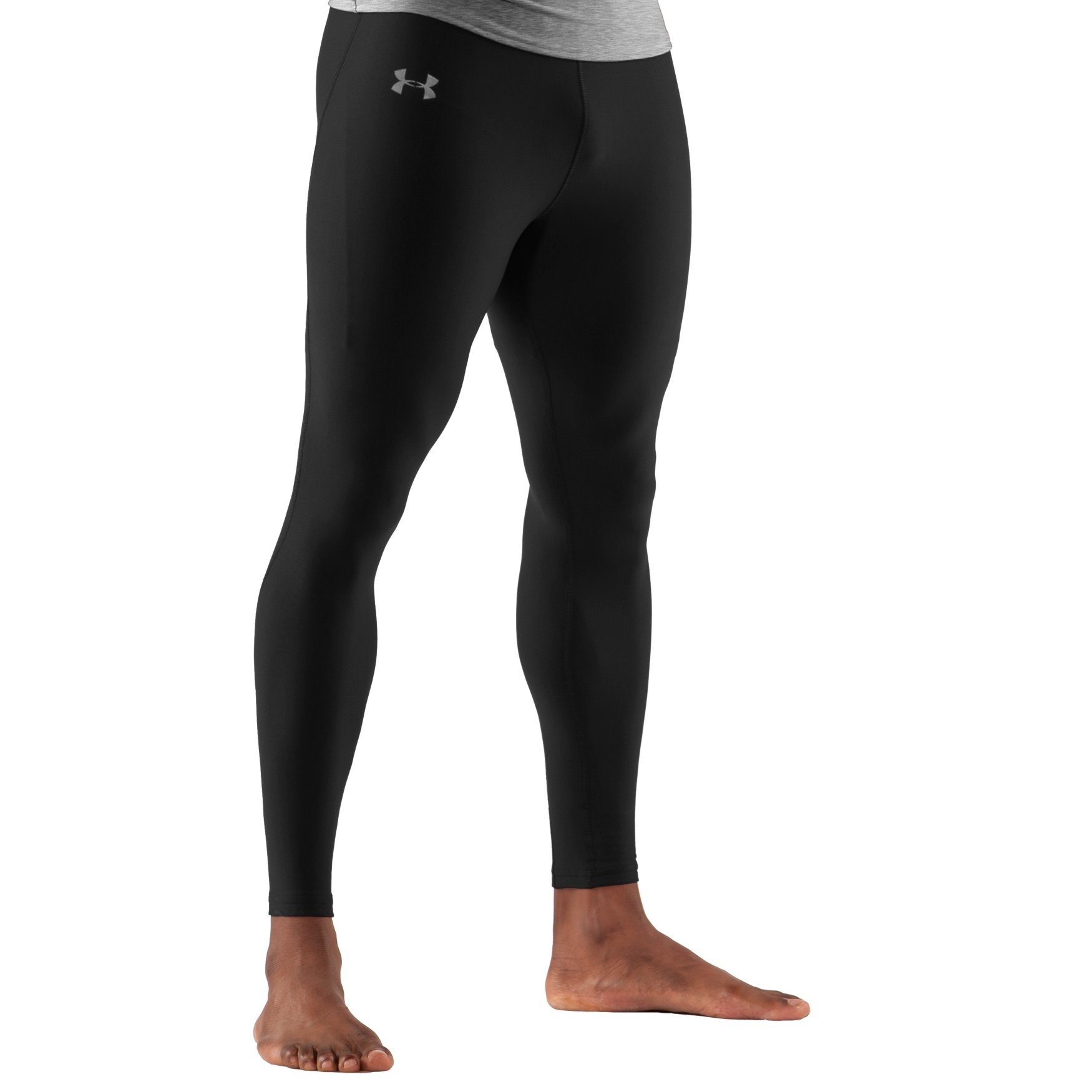 Browse an exclusive range of men's fashion leggings for intense activity. Wear ultra-soft fabric that stretches with your every move makes it one of the finest men's gym leggings. Try the wide waistband offers a slimming fit and compression style design reduces muscle fatigue and cuts recovery time.