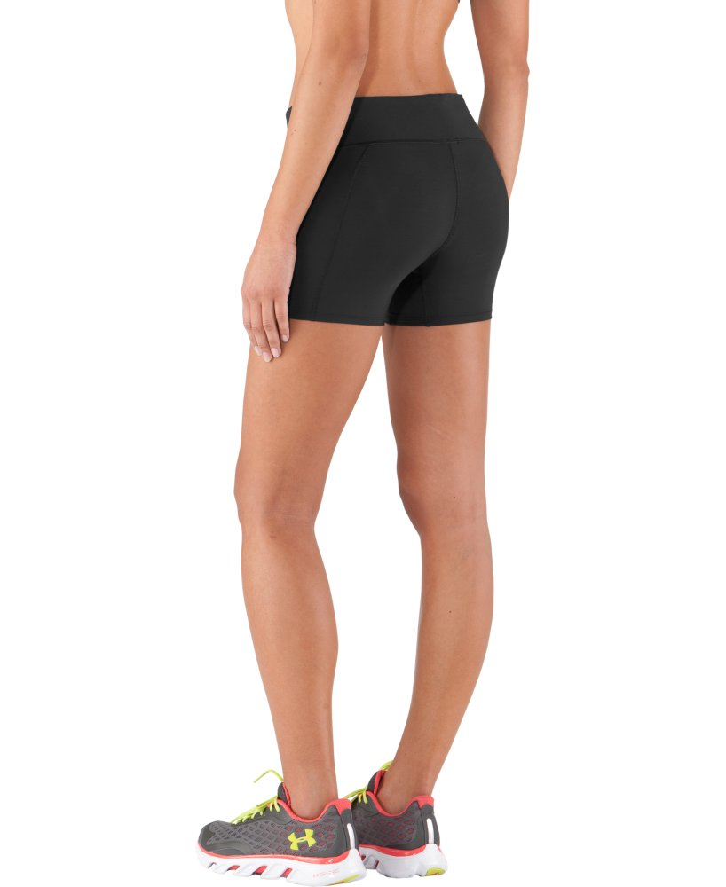 "Women's Under Armour Authentic 4"" Compression Shorts"