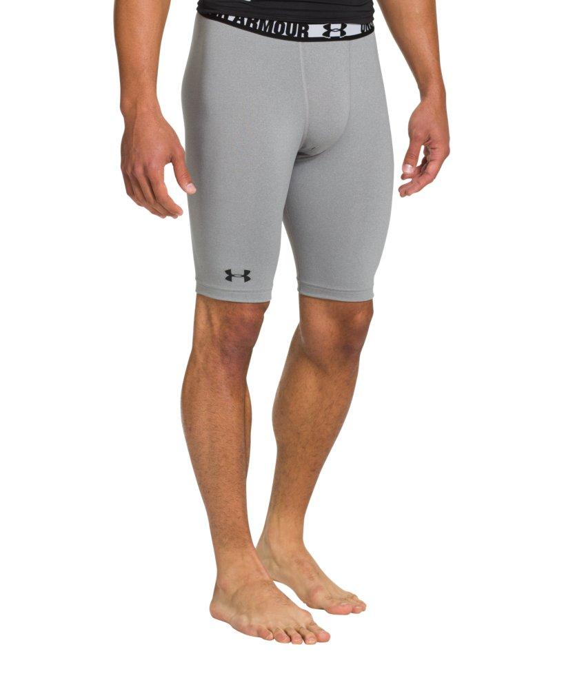 Under Armour Men's HeatGear Sonic Long Compression Shorts ... Men S Under Armour Compression Shorts