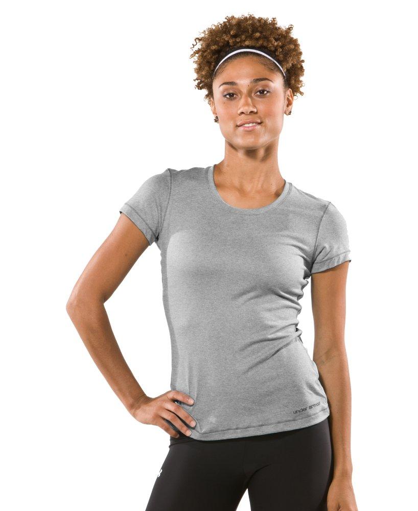 photo: Under Armour Women's HeatGear Touch Shortsleeve T Shirt
