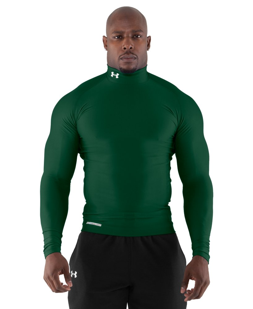 Under armour men 39 s coldgear evo long sleeve compression for Under armour cold gear shirt mens