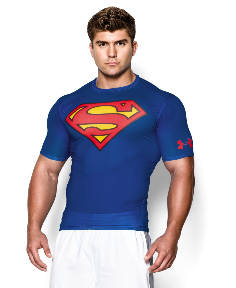 Under armour men 39 s under armour alter ego short sleeve for Compression tee shirts for men