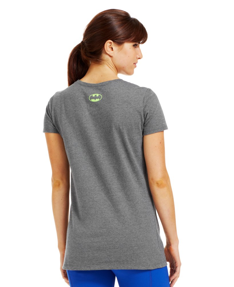 Under armour women 39 s under armour alter ego ombre batgirl for Under armour fitted t shirt