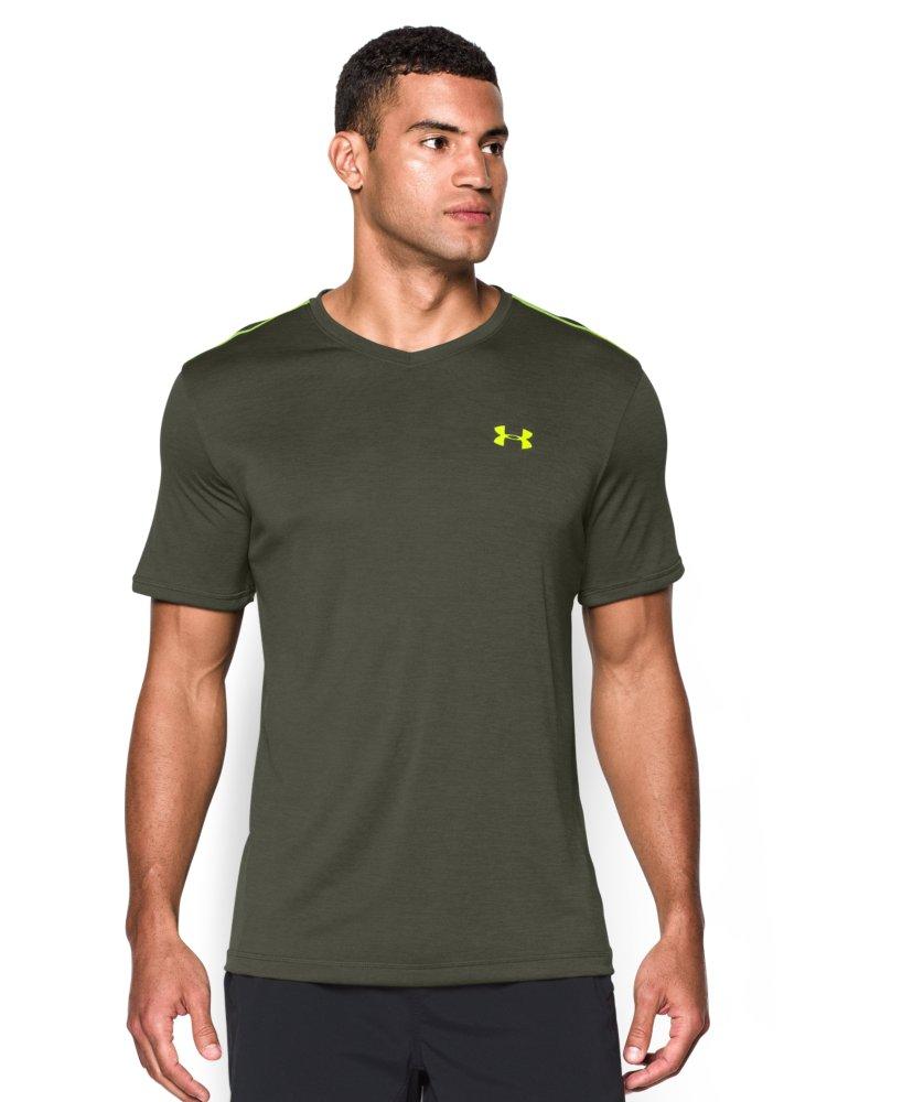 men 39 s under armour tech v neck t shirt ebay
