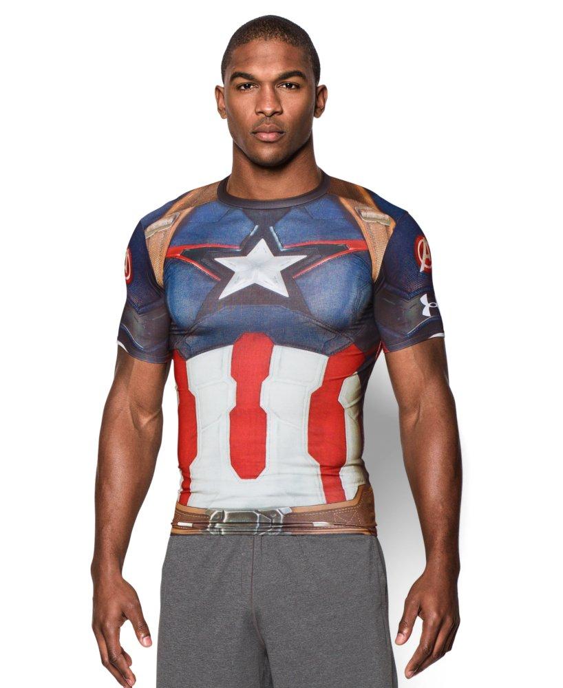 Under Armour Men's Under Armour Alter Ego Captain America Compression Shirt