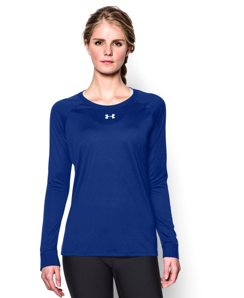 Under armour women 39 s locker long sleeve t shirt ebay for Under armour long sleeve t shirts women
