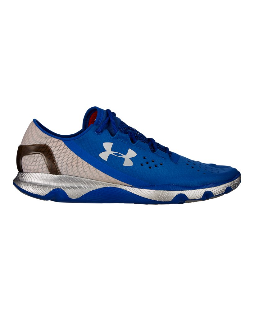Men S Under Armour Running Shoes Metalic Silver Size