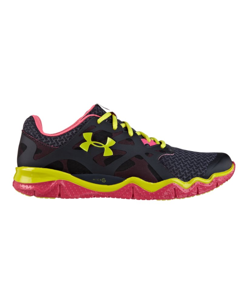 New Under Armour Micro G Mantis Women39s Running Shoe  BluePinkWhite