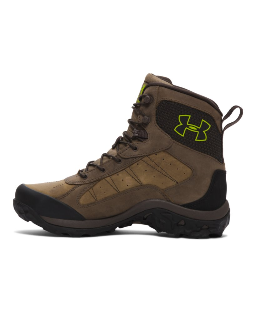 Men S Under Armour Wall Hanger Leather Boots Ebay