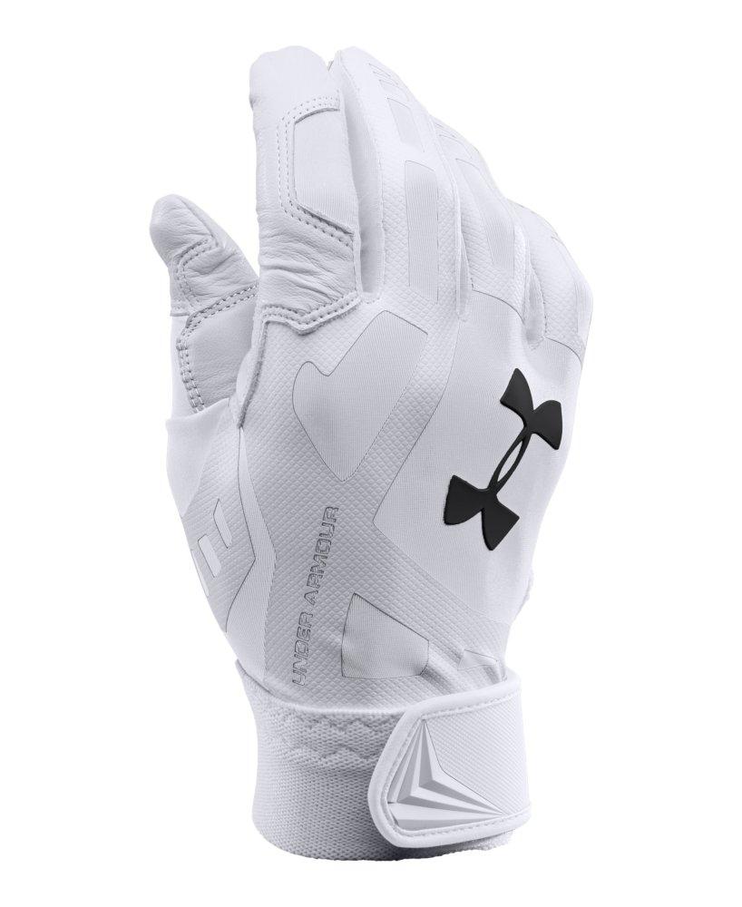 Men S Under Armour Cage Baseball Batting Gloves Ebay