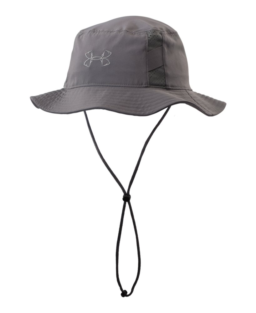 Men 39 s under armour fish armourvent bucket hat ebay for Under armor fishing hat