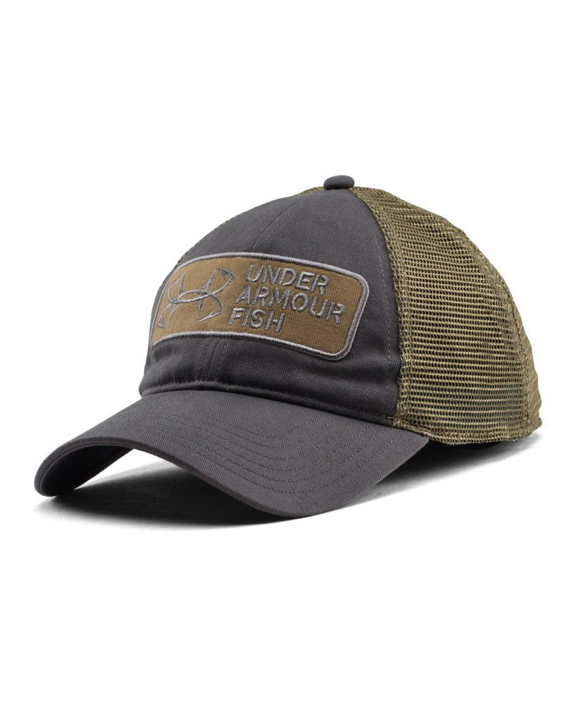 Mens under armour fish hook patch cap for Under armour fish hook hat