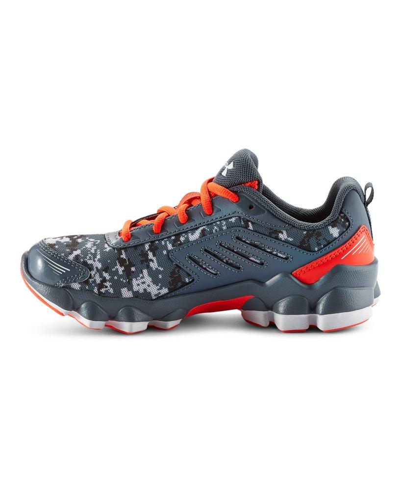 Black And Orange Athletic Shoes Under