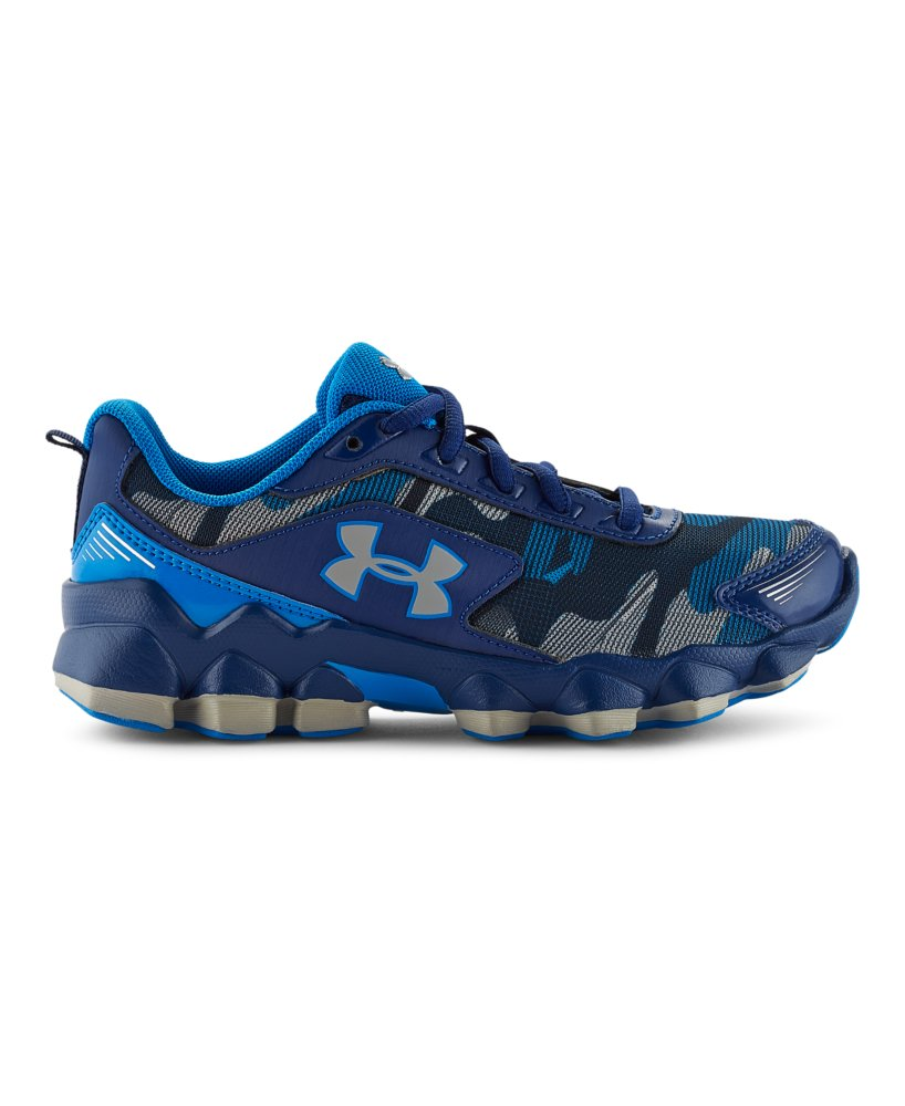 Under Armour Boys Primed  Adjustable Closure Running Shoes