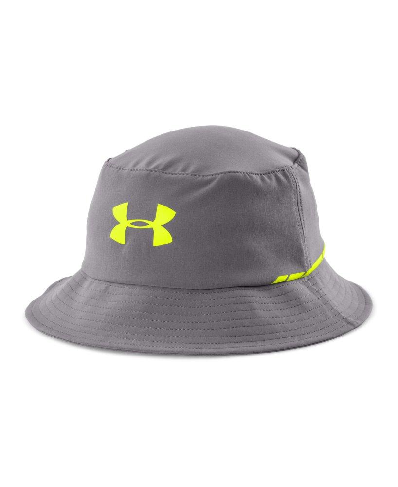 Men 39 s under armour golf bucket hat for Under armour fish hook bucket hat