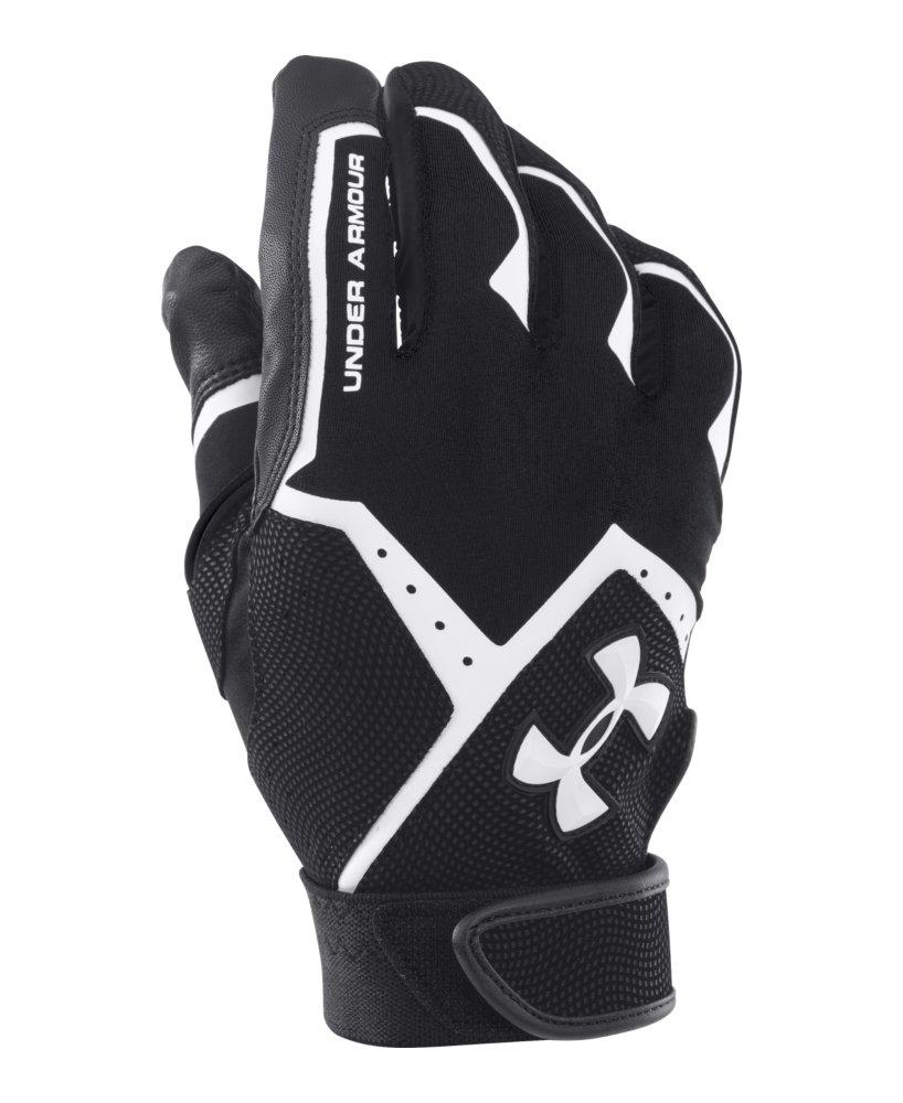 Black batting gloves -