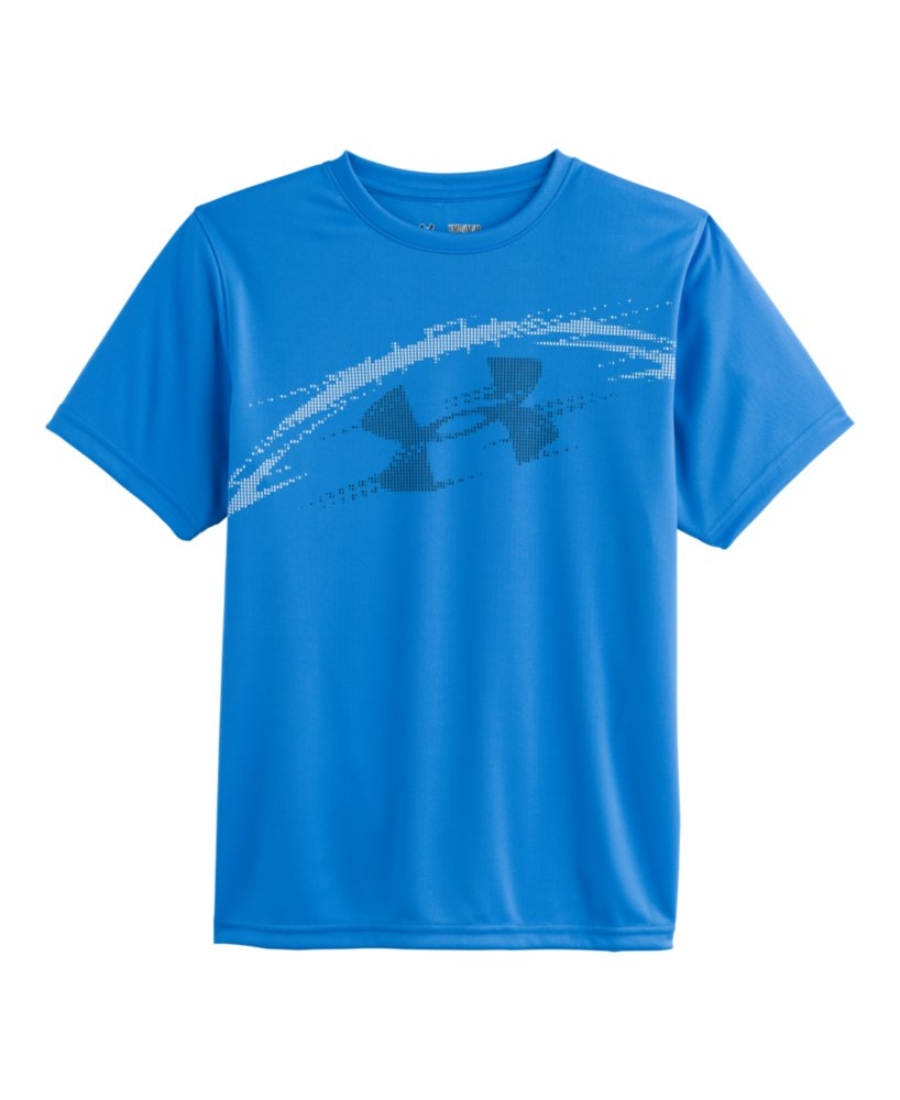 Boys 39 under armour football show me sweat t shirt ebay for Sweat free t shirts
